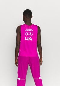 Under Armour - MUSCLE TANK - Funktionsshirt - meteor pink - 2