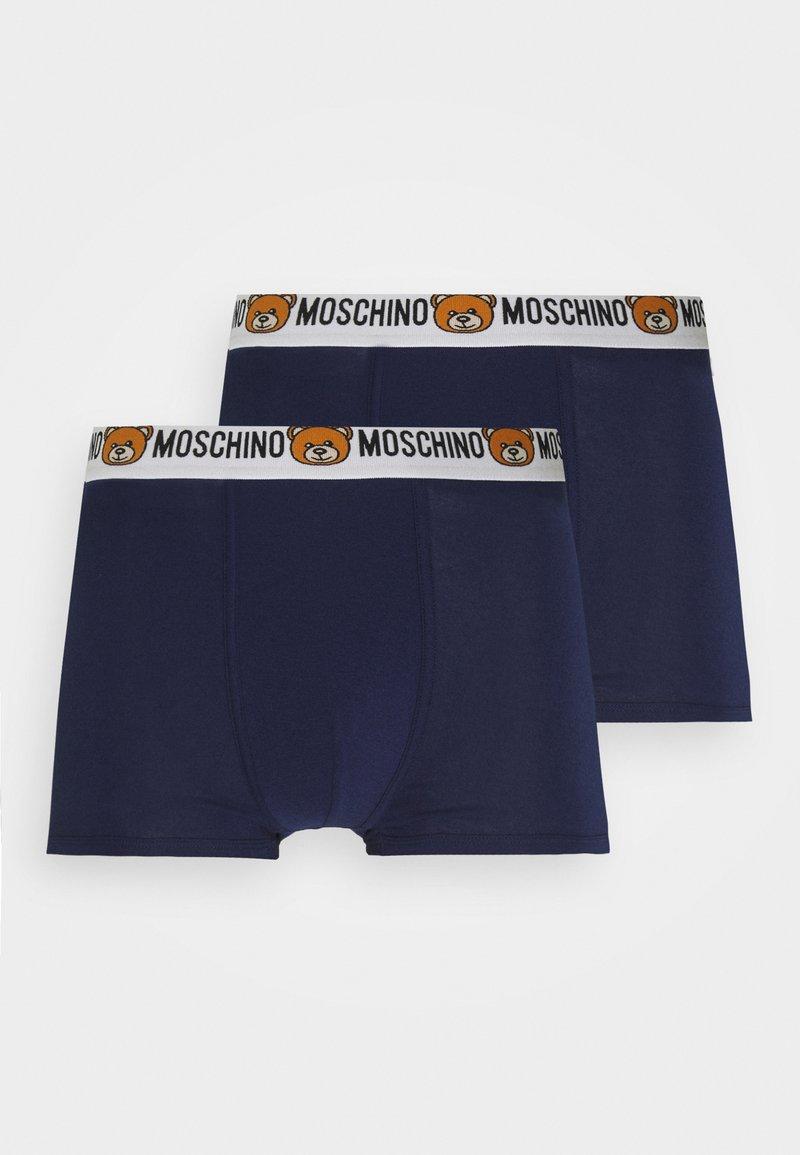Moschino Underwear - TRUNK 2 PACK - Underbukse - navy blue