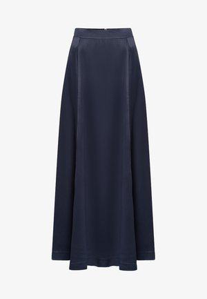 Plisovaná sukně - graphite blue