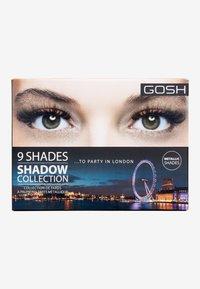 Gosh Copenhagen - 9 SHADES  - Eyeshadow palette - 005 to party in London - 1