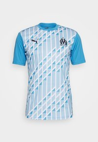 Puma - OLYMPIQUE MARSEILLE STADIUM - Club wear - bleu azur/white - 4