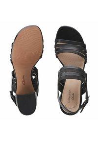 Clarks - CAROLEIGH  - Sandals - black - 3