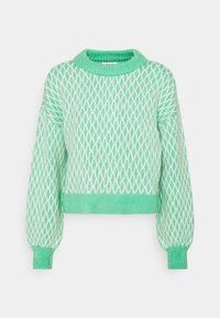 ONLY - ONLCESILLA  - Jumper - deep green/cloud dancer - 0