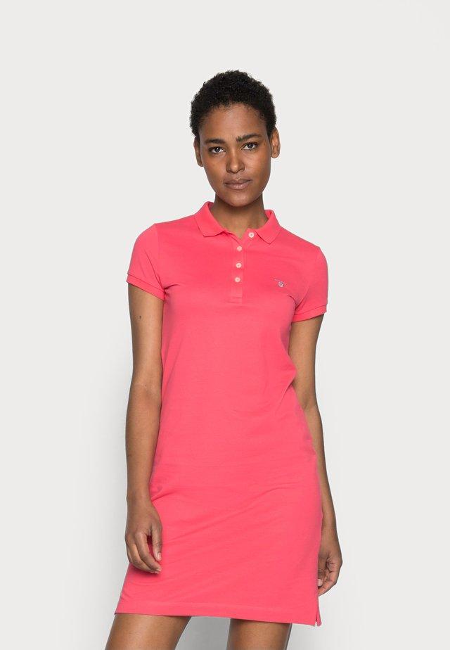 Sukienka letnia - watermelon red
