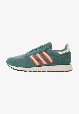 FOREST GROVE - Sneakers basse - raw green/linen/orange