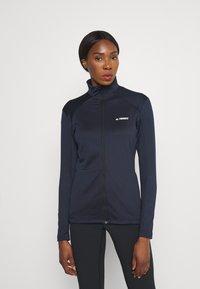 adidas Performance - Fleece jacket - legend ink - 0