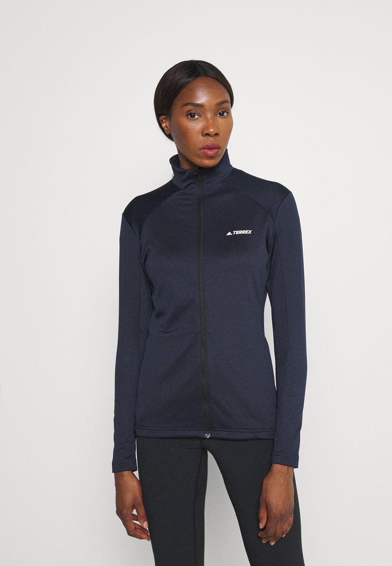 adidas Performance - Fleece jacket - legend ink