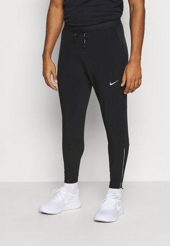 ELITE PANT - Pantalones deportivos - black/black