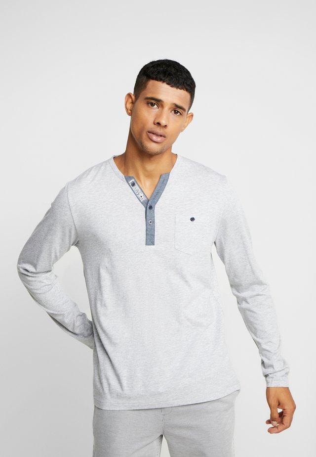 LONGSLEEVE - Nachtwäsche Shirt - gray mele