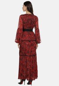 faina - Maxi dress - roter blumen print - 2