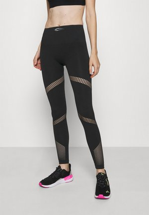 SEAMLESS LEGGINGS EXITUM - Tights - schwarz