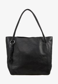 Zign - LEATHER - Handbag - black - 5