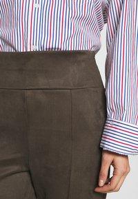 Esprit - Leggings - Trousers - khaki green - 4