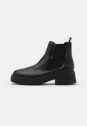 ALEXA - Platform ankle boots - black