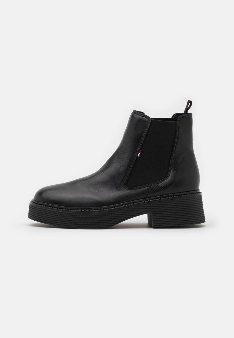 Tommy Jeans - ALEXA - Kotníkové boty na platformě - black
