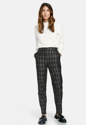 Trousers - schwarz/anthra