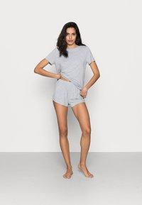Anna Field - Basic short set - Pyjamas - light grey - 1