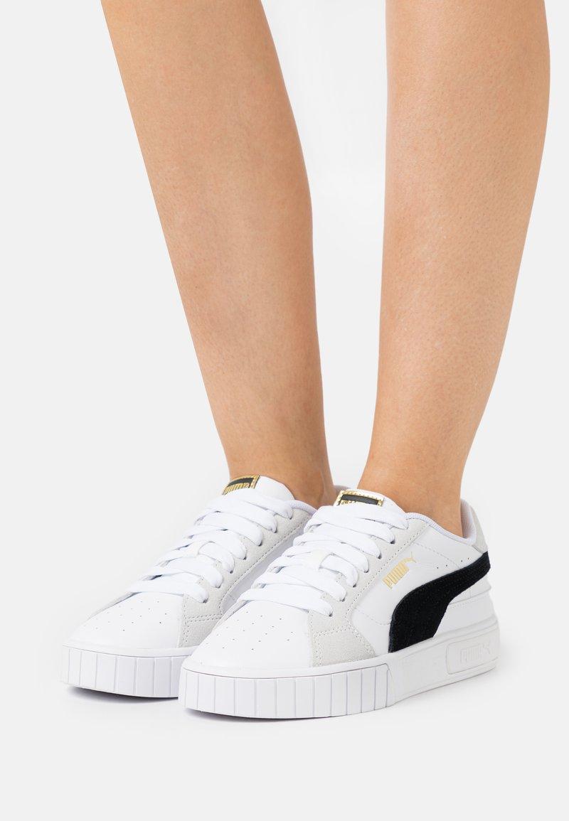 Puma - CALI STAR MIX  - Trainers - white/black