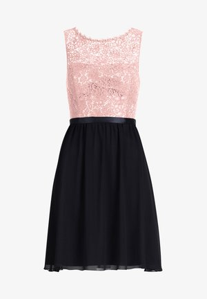 Cocktail dress / Party dress - grey rosé