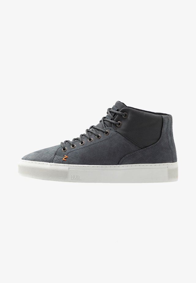 MURRAYFIELD - High-top trainers - washed navy/dust
