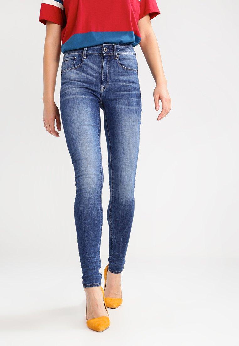 G-Star - 3301 HIGH SKINNY   - Jeans Skinny Fit - medium indigo aged