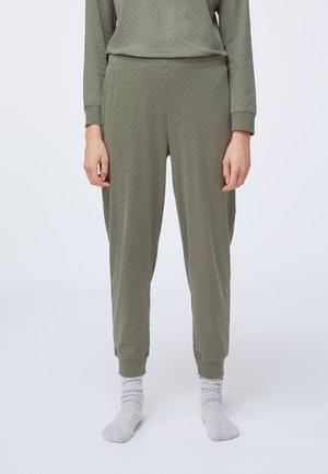 Pyžamový spodní díl - khaki