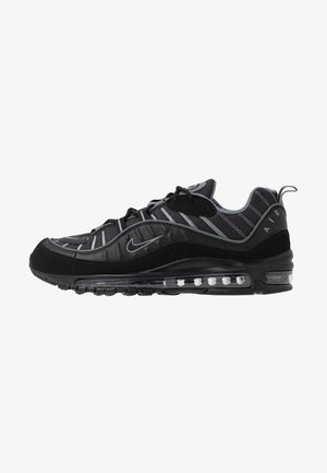 AIR MAX 98 - Sneakersy niskie - black/smoke grey/vast grey/white