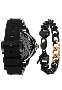 Police - SPECIAL SET - Chronograph watch - black/rose gold-coloured - 2