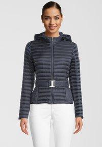 Colmar Originals - PUNKY - Down jacket - navy blue/light steel - 0