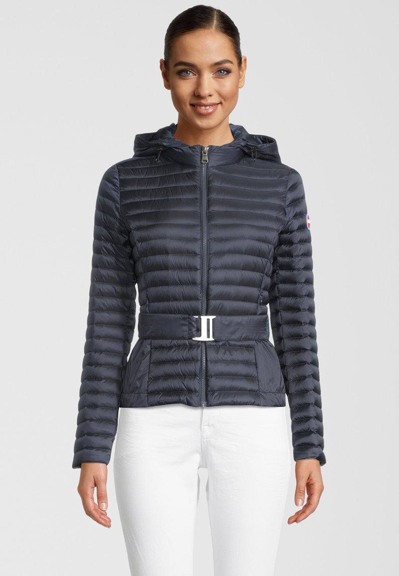 Colmar Originals - PUNKY - Down jacket - navy blue/light steel