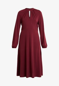 Wallis Tall - HIGH NECK KEYHOLE DRESS - Sukienka z dżerseju - purple - 6