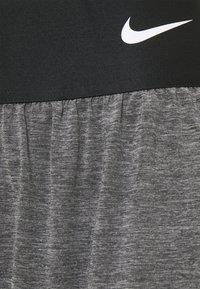 Nike Performance - SHORT - Sports shorts - black heather/black/white - 6