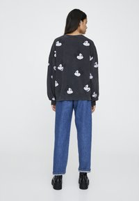 "PULL&BEAR - SWEATSHIRT ""MICKY MAUS"" MIT ALL-OVER PRINT 05596364 - Sweatshirt - mottled dark grey - 2"
