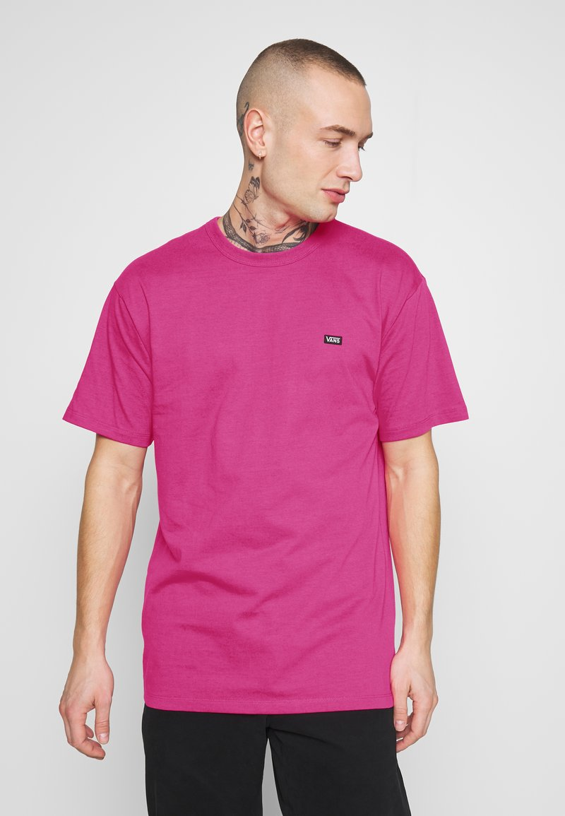 Vans - MN OFF THE WALL CLASSIC SS - Basic T-shirt - fuchsia purple