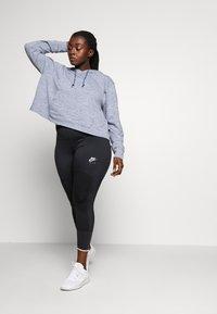 Nike Performance - YOGA CROP PLUS - Camiseta de deporte - diffused blue - 1