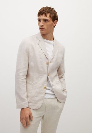BISLEVA - Blazer jacket - beige