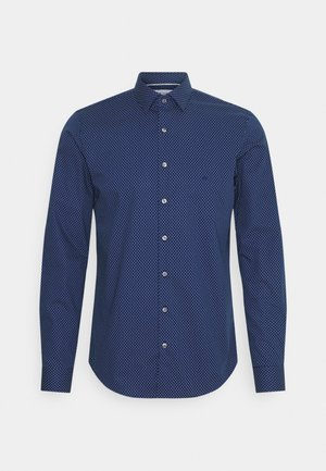DOT EASY CARE SLIM SHIRT - Kostymskjorta - navy