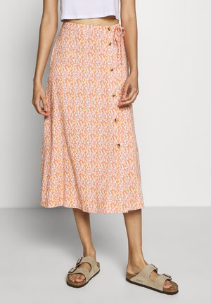 BELLA  - A-line skirt - carnelian