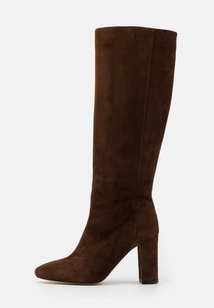 CALIME - High heeled boots - marron force