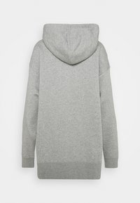 Nike Sportswear - HOODIE TREND - Felpa con cappuccio - dark grey heather/white - 1