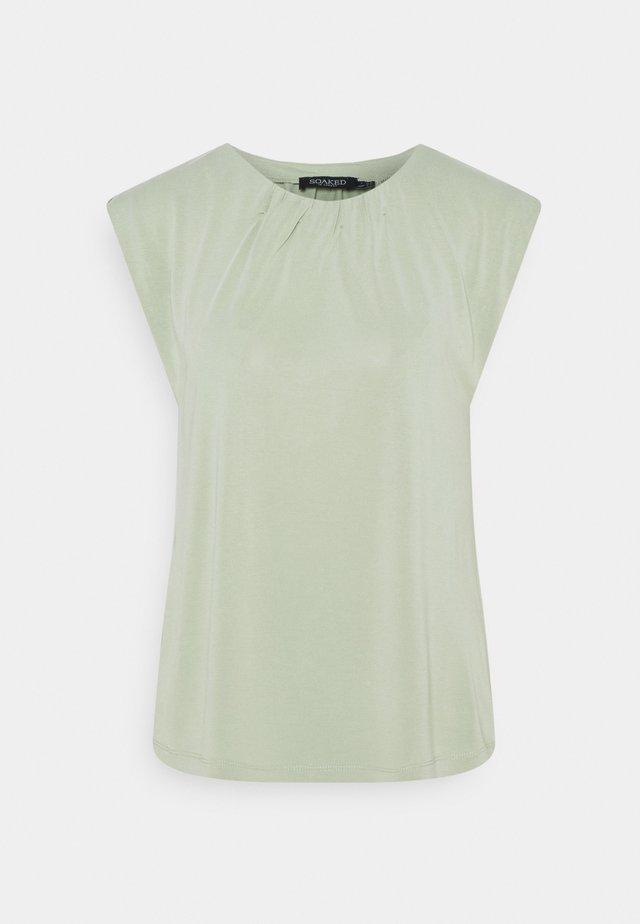 ANITRA - Camiseta básica - swamp