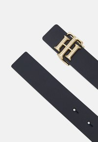 Tommy Hilfiger - LOGO REVERSIBLE BELT - Cintura - blue - 1