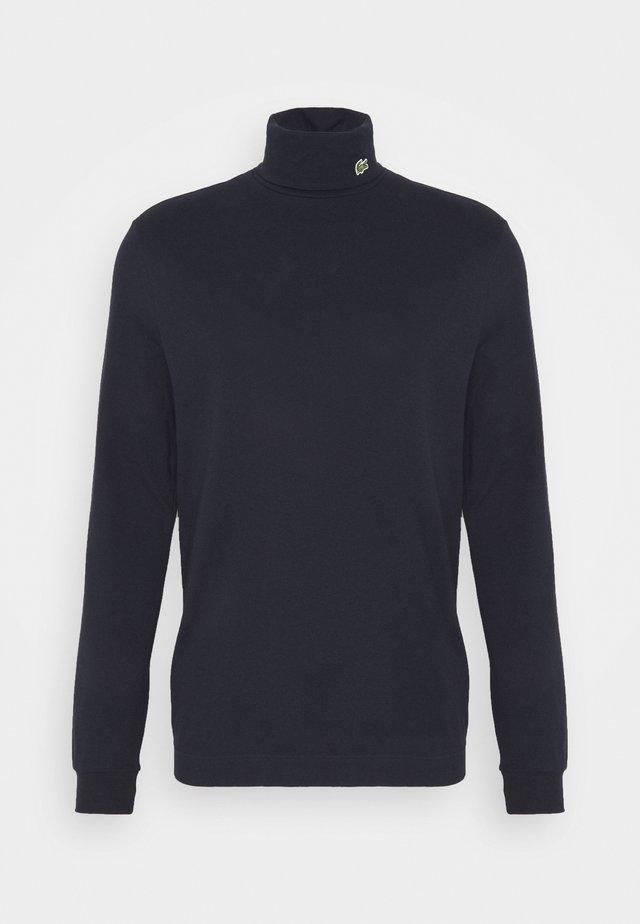 Topper langermet - dark blue