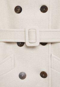 Mango - LUNA - Classic coat - open beige - 7