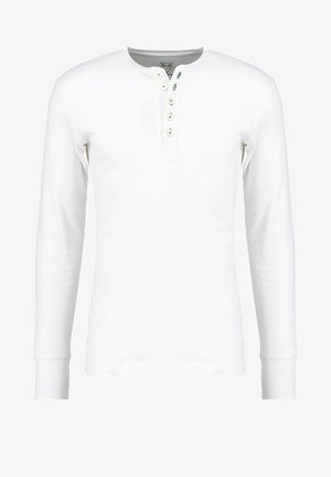 Long sleeved top - bright white