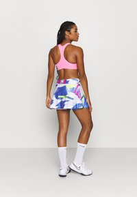 Nike Performance - SLAM SKIRT - Sports skirt - white/sapphire/hot lime/pink foil - 2