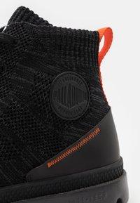 Palladium - PAMPA LITE UNISEX - Lace-up ankle boots - raven/black - 5