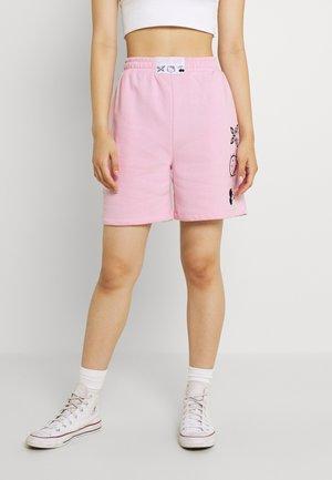 SLOGAN - Shorts - pink