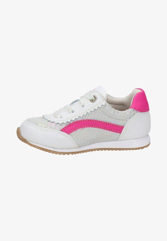 Sneakers laag - zilver