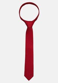 Calvin Klein - DOT TIE  - Tie - red - 1